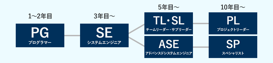 SKBのキャリアプラン イメージ図