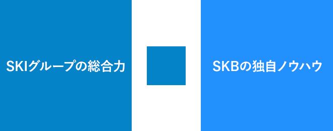 SKBの事業範囲イメージ図